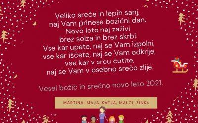 Voščilo za novo leto